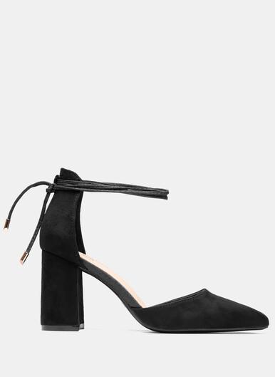 Black high heel boots Pin Studs DeeZee&CCC DeeZee.eu
